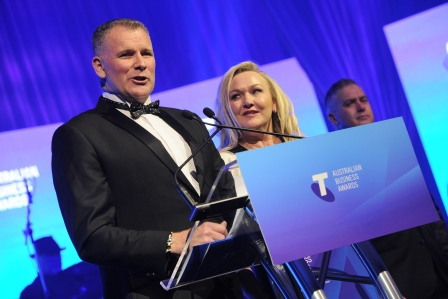 ERS Overall Winner of the Telstra Business Of The Year Award.