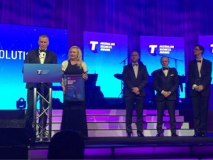 ERS winner of the Telstra Business Awards