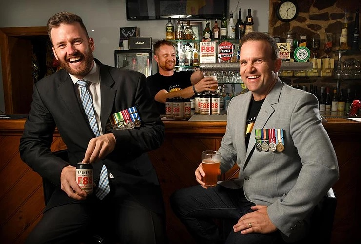 Share a drink at AOG to support Veteran Health