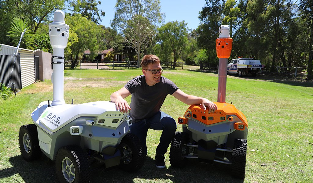 ERS Highlight: Meet the bright tech fanatic from our robotics division